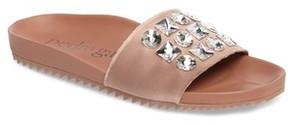 Pedro Garcia Women's Amery Crystal Slide Sandal