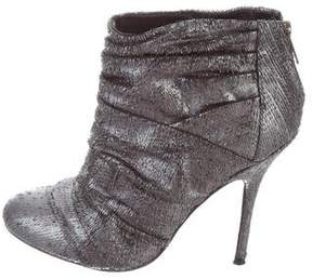 Elizabeth and James Textured Ankle Boots