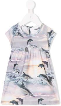 Molo dolphin-print dress