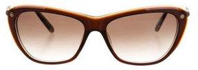 Balmain Semi Cat-Eye Sunglasses w/ Tags