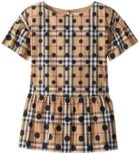 Burberry Anabella Shift Dress Girl's Dress