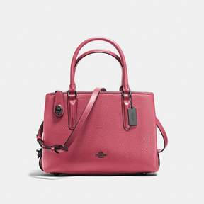 COACH COACH BROOKLYN CARRYALL 28 - ROUGE/DARK GUNMETAL