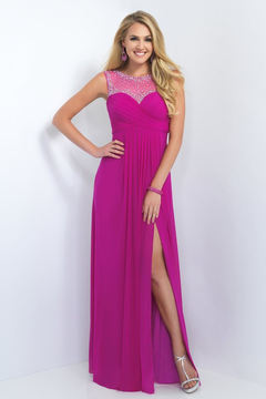 Blush Lingerie Crystal Embellished Sweetheart Gown 11096