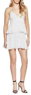 Bardot Spotty Tier Dress