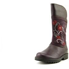 Clarks Rheajane Gtx T Toddler Round Toe Leather Mid Calf Boot.