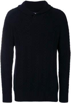 Barbour shawl jumper