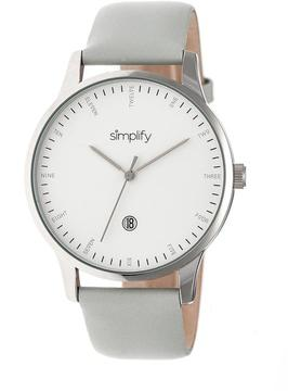 Simplify The 4300 Collection SIM4303 Stainless Steel Analog Watch