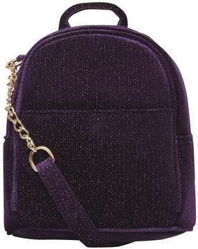 Purple Mini Cross Body Backpack