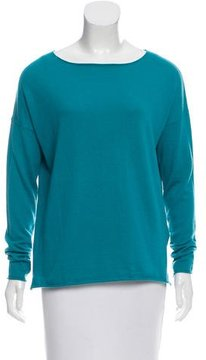 Allude Cashmere-Blend Oversize Sweater w/ Tags