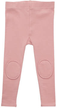 Rock Your Baby Pink Kneepatch Leggings
