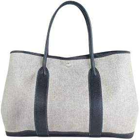 Hermes Garden Party cloth tote - GREY - STYLE