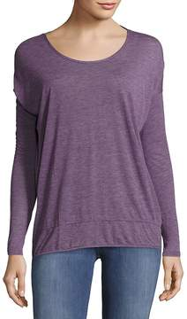 Bobi Women's Drop-Shoulder Textured Tee