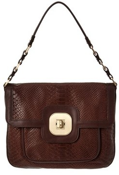 Longchamp Leather Shoulder Bag. - BLACK - STYLE