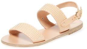 Ancient Greek Sandals Women's Dinami Studded Leather Sandal