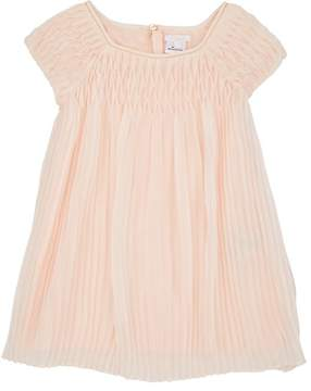 Chloé KIDS' PLEATED CHIFFON DRESS