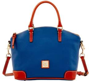 Dooney & Bourke Pebble Grain Charli Satchel - OCEAN - STYLE