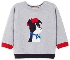 Jacadi Boys' Intarsia Puppy Sweater - Baby