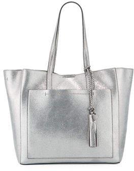 Cole Haan Natalie Unlined Metallic Tote Bag