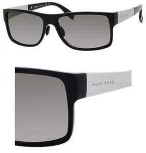 HUGO BOSS Sunglasses Boss Black 440 /S 0F3H Shiny / EU gray gradient lens