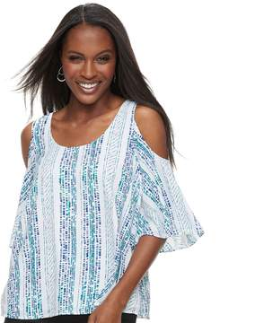Apt. 9 Women's Cold-Shoulder Strappy Top