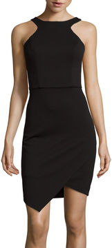 Bisou Bisou Sleeveless Halter Bodycon Dress