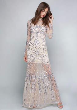 Bebe Rachel Embellished Gown