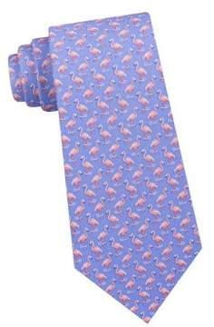 Lord & Taylor The Mens Shop Flamingo Silk Tie