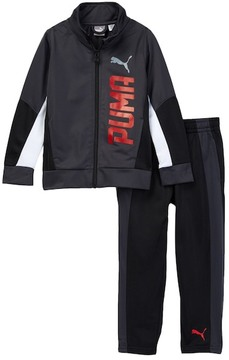 PUMA Tricot Jacket & Pants Track Set (Toddler Boys)