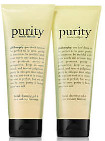 philosophy A-D purity foaming cleansing gel duoAuto-Delivery