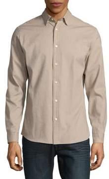 Selected Cotton Button-Down Shirt