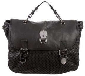 Mulberry Perforated Leather Satchel