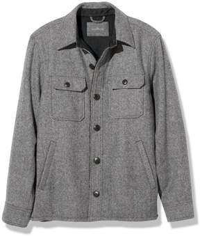 L.L. Bean L.L.Bean Signature Lined Wool-Blend Shirt Jacket, Slim Fit