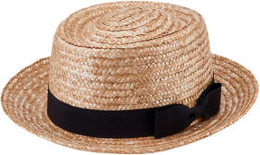 San Diego Hat Company Women's Wheat Straw Boater Hat
