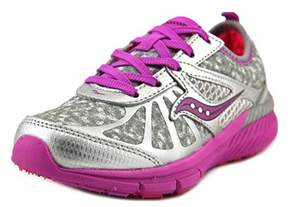 Saucony Girl Volt Youth Round Toe Synthetic Gray Sneakers.