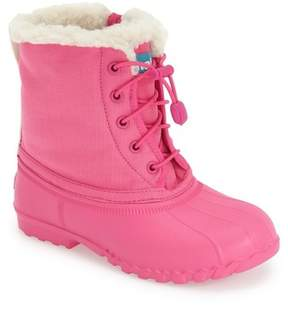 Native 'Jimmy' Faux Fur Lined Weatherproof Boot (Baby, Walker, Toddler & Little Kid)