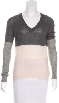 Enza Costa Cashmere V-Neck Sweater