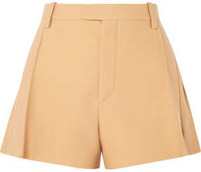 Chloé Wool-blend Shorts - Neutral