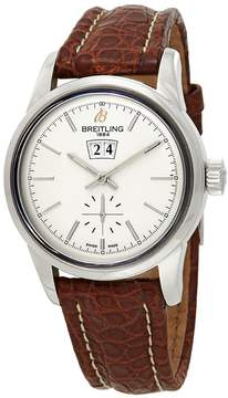 Breitling Transocean 38 Automatic Silver Dial Men's Watch