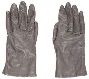 Neiman Marcus Leather Cashmere Gloves