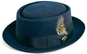 Stacy Adams Men's Wool Felt Rocker Hat