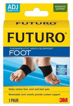 Futuro Therapeutic Arch Support Foot Brace, Black, Adjustable