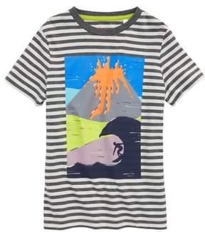 Boden Mini Arty Volcano T-Shirt