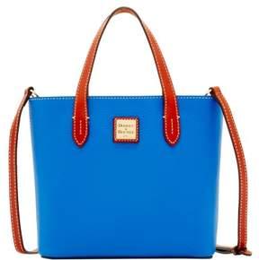 Dooney & Bourke Pebble Grain Mini Waverly Top Handle Bag - FRENCH BLUE - STYLE