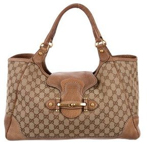 Gucci Large GG New Pelham Tote - BROWN - STYLE