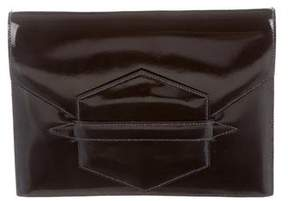 Hermes Faco Clutch - BLACK - STYLE
