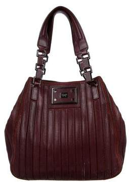 Anya Hindmarch Suede Leather-Trimmed Bag