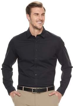 Apt. 9 Big & Tall Slim-Fit Stretch Button-Down Shirt