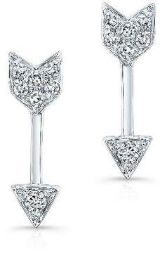 Anne Sisteron Arrow Diamond Earring