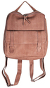 Taupe Hester Leather Convertible Backpack