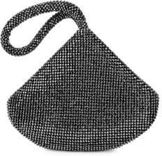 Jessica McClintock Staci Sparkling Mesh Pouch